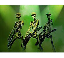 Rock n Roll Dem Bones Photographic Print