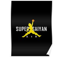 Dragonball Z - AIR SUPER SAIYAN GOKU Poster