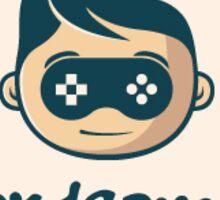 Hard Gamer Sticker