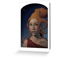 Sea Queen Greeting Card