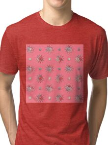 Colorful sun and stars design Tri-blend T-Shirt