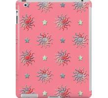 Colorful sun and stars design iPad Case/Skin