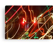 Color Lights Canvas Print