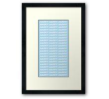 harry !  Framed Print