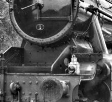 Steam train at Rothley Sticker