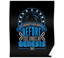 Before The Book Of Genesis (Sonic Legendary Gamer) Poster
