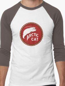 Vintage Arctic Cat  White Bear Men's Baseball ¾ T-Shirt