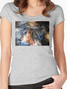 Chief Running Horse Women's Fitted Scoop T-Shirt
