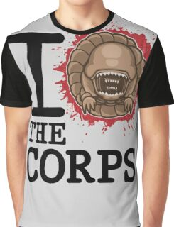 I Love The Corps Graphic T-Shirt