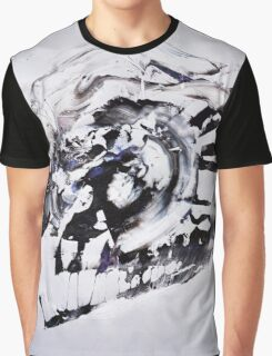 COLD & White 2 - New Year BIG Monochromatic Original mixed media painting Graphic T-Shirt