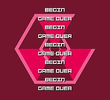 Begin, Game Over [Super Hexagon] by maurrokh