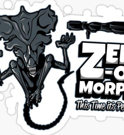 Zen-o-morph Sticker