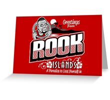 Greetings from Rook Islands Greeting Card