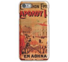 Vintage poster - Beer iPhone Case/Skin