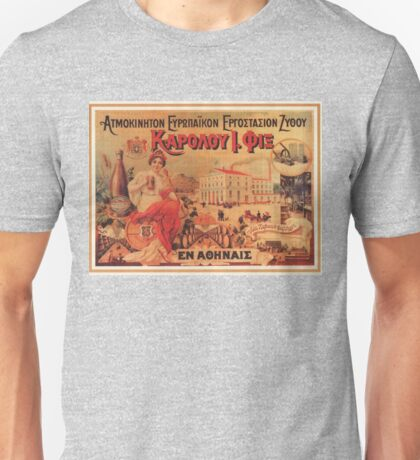 Vintage poster - Beer Unisex T-Shirt