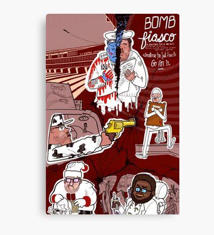 Bomb Fiasco Canvas Print