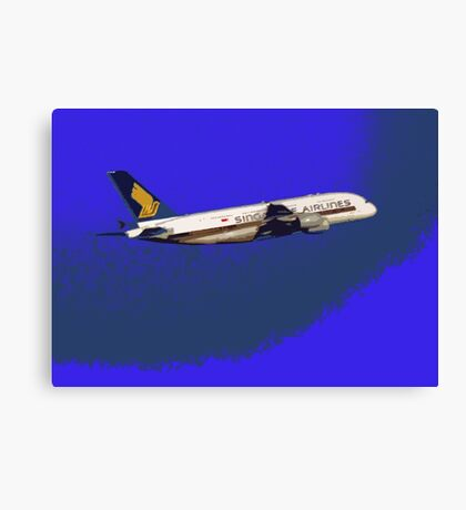Singapore airline Canvas Print