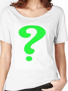 The riddlers best thoughts Women's Relaxed Fit T-Shirt