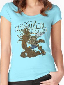 Tree Service Women's Fitted Scoop T-Shirt