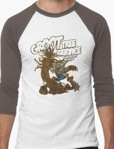 Tree Service Men's Baseball ¾ T-Shirt