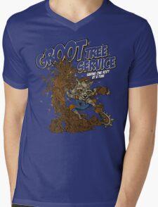 Tree Service Mens V-Neck T-Shirt