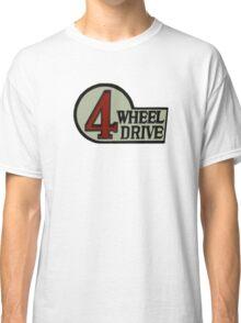 Toyota FJ40 Land Cruiser Four Wheel Drive Emblem Classic T-Shirt