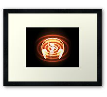 dancing or club music theme Framed Print