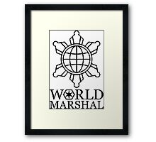 Metal Gear Rising - World Marshal Framed Print