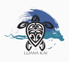 Tribal Turtle / Luana Kai Maui by Susan R. Wacker
