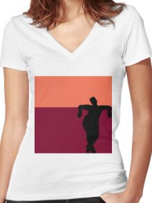 Paper Doll Redux: EveryAngle II Women's Fitted V-Neck T-Shirt