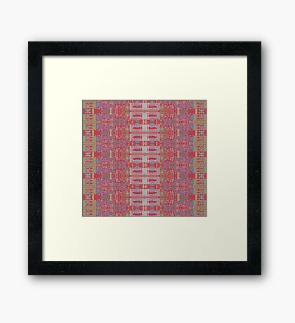 brooklyn promenade tangle Framed Print