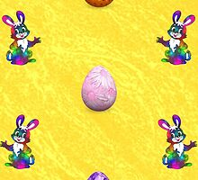 Easter Eggs and Bunnies by Carol & Colin Bedson