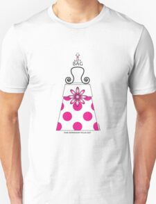 The Katy Bag / Pink Peppermint Polka Dot T-Shirt