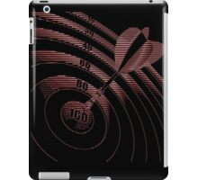 DARTS, Dart Board, 100 iPad Case/Skin