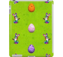 Easter Eggs and Bunnies iPad Case/Skin