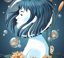 Breathing Underwater by FabledCreative