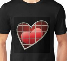 heart in jail Unisex T-Shirt