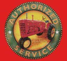 Massey Harris vintage tractors by Nostalgix