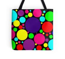 Multi-Colored Bubbles Tote Bag