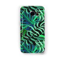 Endor jungle green leaves pattern Samsung Galaxy Case/Skin