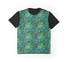 Endor jungle green leaves pattern Graphic T-Shirt