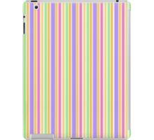 Multi-Colored Stripes iPad Case/Skin