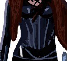 Clary Fray/Clary Fairchild Outline Sticker