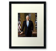 Official Presidential Portrait Bill Clinton Framed Print