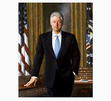 Official Presidential Portrait Bill Clinton Unisex T-Shirt