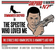 The Spectre Who Loved Me Photographic Print