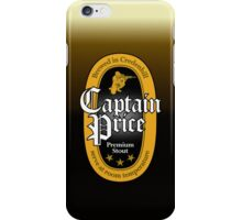 Captain Price Premium Stout iPhone Case/Skin