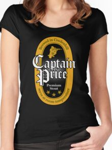 Captain Price Premium Stout Women's Fitted Scoop T-Shirt