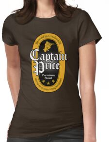 Captain Price Premium Stout Womens Fitted T-Shirt