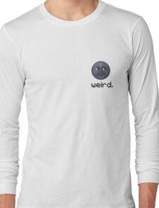 Weird Pocket Placed Tshirt Long Sleeve T-Shirt